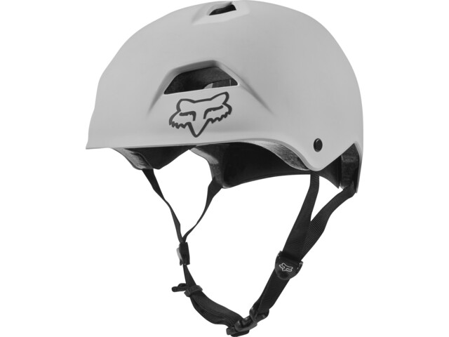 Fox Flight Jump Helmet Herren white